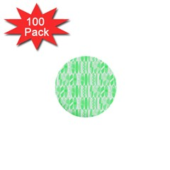 Bright Lime Green Colored Waikiki Surfboards  1  Mini Buttons (100 Pack)  by PodArtist