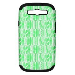 Bright Lime Green Colored Waikiki Surfboards  Samsung Galaxy S Iii Hardshell Case (pc+silicone) by PodArtist