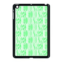 Bright Lime Green Colored Waikiki Surfboards  Apple Ipad Mini Case (black) by PodArtist