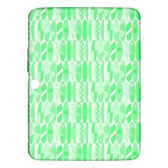 Bright Lime Green Colored Waikiki Surfboards  Samsung Galaxy Tab 3 (10 1 ) P5200 Hardshell Case  by PodArtist