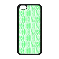 Bright Lime Green Colored Waikiki Surfboards  Apple Iphone 5c Seamless Case (black) by PodArtist