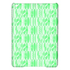 Bright Lime Green Colored Waikiki Surfboards  Ipad Air Hardshell Cases by PodArtist