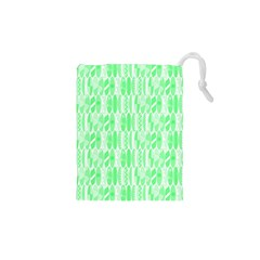 Bright Lime Green Colored Waikiki Surfboards  Drawstring Pouch (xs) by PodArtist