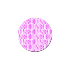 Bright Pink Colored Waikiki Surfboards  Golf Ball Marker (4 Pack) by PodArtist
