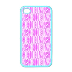 Bright Pink Colored Waikiki Surfboards  Apple Iphone 4 Case (color) by PodArtist