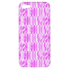 Bright Pink Colored Waikiki Surfboards  Apple Iphone 5 Hardshell Case by PodArtist