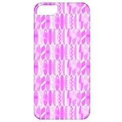 Bright Pink Colored Waikiki Surfboards  Apple Iphone 5 Classic Hardshell Case by PodArtist