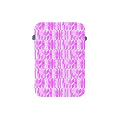 Bright Pink Colored Waikiki Surfboards  Apple Ipad Mini Protective Soft Cases by PodArtist