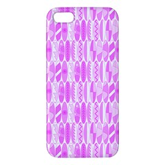 Bright Pink Colored Waikiki Surfboards  Iphone 5s/ Se Premium Hardshell Case by PodArtist