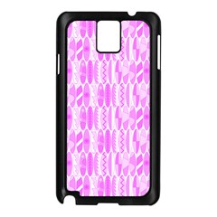 Bright Pink Colored Waikiki Surfboards  Samsung Galaxy Note 3 N9005 Case (black)