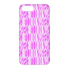 Bright Pink Colored Waikiki Surfboards  Apple Iphone 7 Plus Hardshell Case by PodArtist