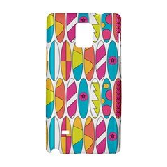 Mini Rainbow Colored Waikiki Surfboards  Samsung Galaxy Note 4 Hardshell Case by PodArtist