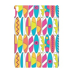 Mini Rainbow Colored Waikiki Surfboards  Apple Ipad Pro 10 5   Hardshell Case by PodArtist