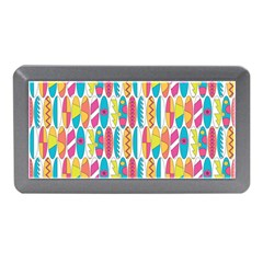 Rainbow Colored Waikiki Surfboards  Memory Card Reader (mini) by PodArtist