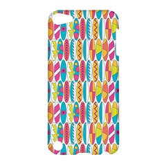 Rainbow Colored Waikiki Surfboards  Apple Ipod Touch 5 Hardshell Case by PodArtist