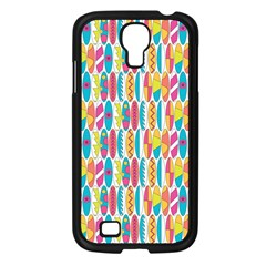 Rainbow Colored Waikiki Surfboards  Samsung Galaxy S4 I9500/ I9505 Case (black) by PodArtist