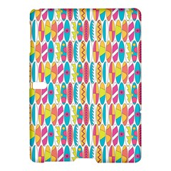 Rainbow Colored Waikiki Surfboards  Samsung Galaxy Tab S (10 5 ) Hardshell Case  by PodArtist