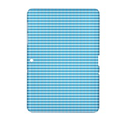 Oktoberfest Bavarian Blue And White Small Diagonal Diamond Pattern Samsung Galaxy Tab 2 (10 1 ) P5100 Hardshell Case  by PodArtist