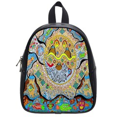 Supersonic Sun School Bag (small) by chellerayartisans