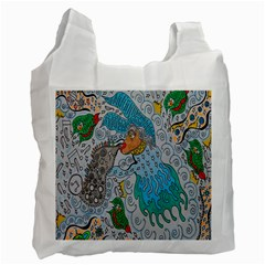 Music Angel Recycle Bag (two Side) by chellerayartisans