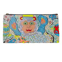 Cosmic Moon Angel Pencil Cases