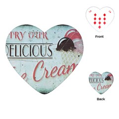 Delicious Ice Cream Playing Cards (heart) by snowwhitegirl