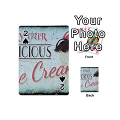 Delicious Ice Cream Playing Cards 54 (mini) by snowwhitegirl
