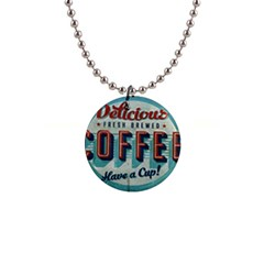 Delicious Coffee Button Necklaces by snowwhitegirl