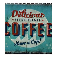 Delicious Coffee Shower Curtain 66  X 72  (large)  by snowwhitegirl
