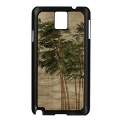 Vintage Bamboo Trees Samsung Galaxy Note 3 N9005 Case (black) by snowwhitegirl