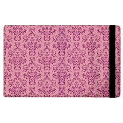 Victorian Pink Ornamental Apple Ipad 2 Flip Case by snowwhitegirl