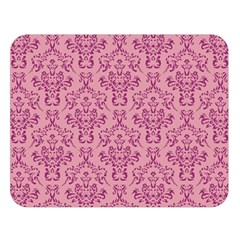Victorian Pink Ornamental Double Sided Flano Blanket (large)  by snowwhitegirl