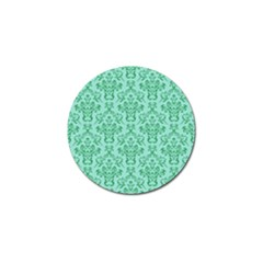 Victorian Teal Ornamental Golf Ball Marker by snowwhitegirl