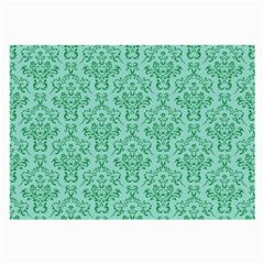 Victorian Teal Ornamental Large Glasses Cloth by snowwhitegirl