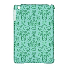 Victorian Teal Ornamental Apple Ipad Mini Hardshell Case (compatible With Smart Cover) by snowwhitegirl