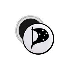 Logo Of Pirate Party Australia 1 75  Magnets by abbeyz71