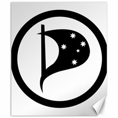 Logo Of Pirate Party Australia Canvas 8  X 10  by abbeyz71