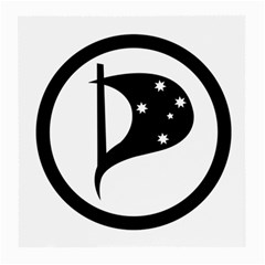 Logo Of Pirate Party Australia Medium Glasses Cloth (2 Side) by abbeyz71