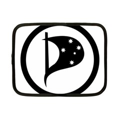 Logo Of Pirate Party Australia Netbook Case (small) by abbeyz71