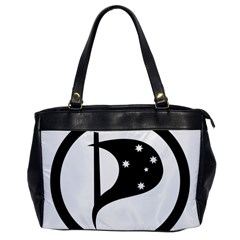 Logo Of Pirate Party Australia Oversize Office Handbag by abbeyz71