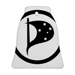 Logo Of Pirate Party Australia Bell Ornament (two Sides) by abbeyz71