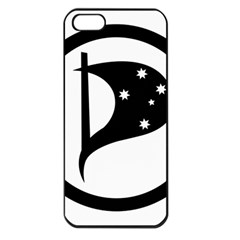 Logo Of Pirate Party Australia Apple Iphone 5 Seamless Case (black) by abbeyz71