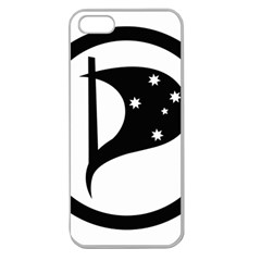 Logo Of Pirate Party Australia Apple Seamless Iphone 5 Case (clear) by abbeyz71
