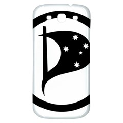 Logo Of Pirate Party Australia Samsung Galaxy S3 S Iii Classic Hardshell Back Case by abbeyz71
