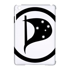 Logo Of Pirate Party Australia Apple Ipad Mini Hardshell Case (compatible With Smart Cover) by abbeyz71