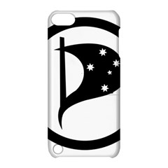 Logo Of Pirate Party Australia Apple Ipod Touch 5 Hardshell Case With Stand by abbeyz71