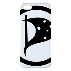 Logo Of Pirate Party Australia Apple Iphone 5 Premium Hardshell Case by abbeyz71