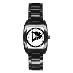 Logo Of Pirate Party Australia Stainless Steel Barrel Watch by abbeyz71