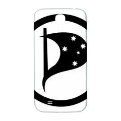 Logo Of Pirate Party Australia Samsung Galaxy S4 I9500/i9505  Hardshell Back Case by abbeyz71