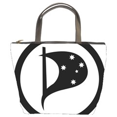 Logo Of Pirate Party Australia Bucket Bag by abbeyz71